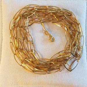 100 Inches Gold-Over-Sterling Necklace